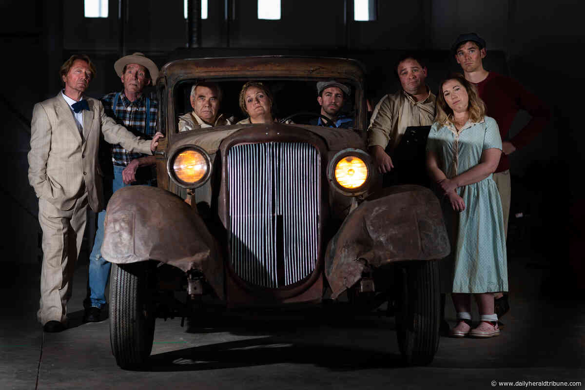 'Grapes of Wrath' stage show entering final weekend