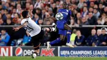 Champions League: Chelsea und Valencia bangen um Achtelfinal-Einzug