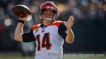 """Andy Dalton has a """"whole new perspective"""" after benching"""