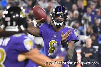 Lamar Jackson continues to lead Pro Bowl voting