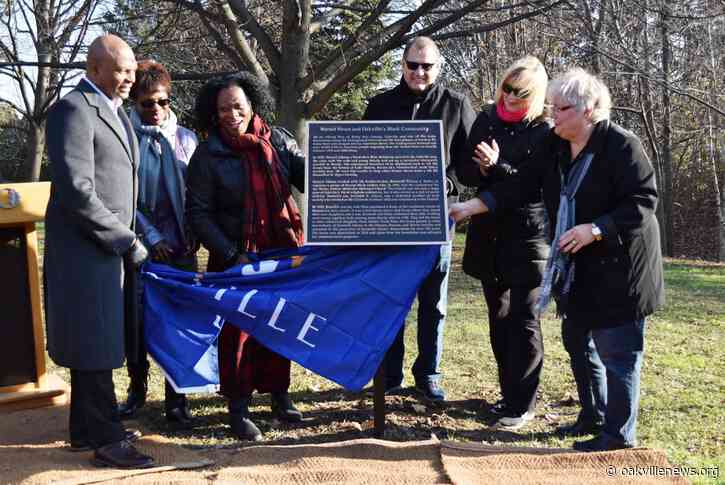 Honouring Oakville's black community