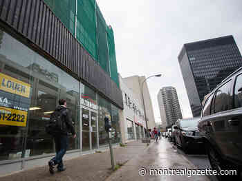 Montreal to hold public consultations on problem of vacant storefronts