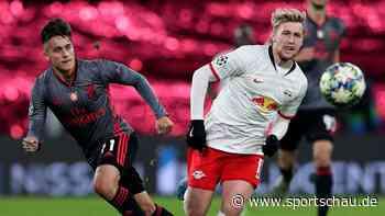 Champions League - RB Leipzig schießt sich in der Nachspielzeit ins Achtelfinale