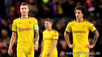 Champions League: Niederlage gegen Barcelona - Dortmund muss um Achtelfinale zittern
