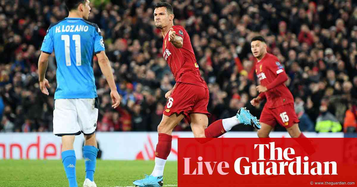 Liverpool 1-1 Napoli: Champions League – as it happened