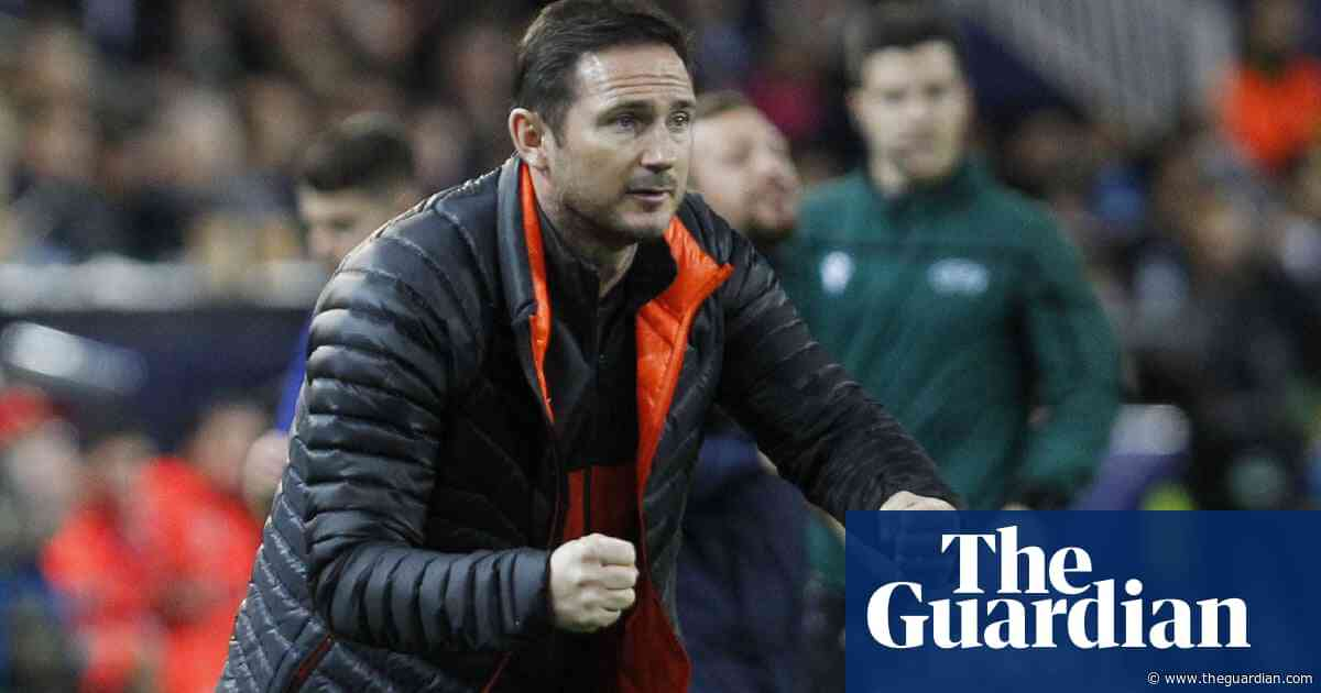 Frank Lampard relieved Chelsea are still in charge of Champions League destiny