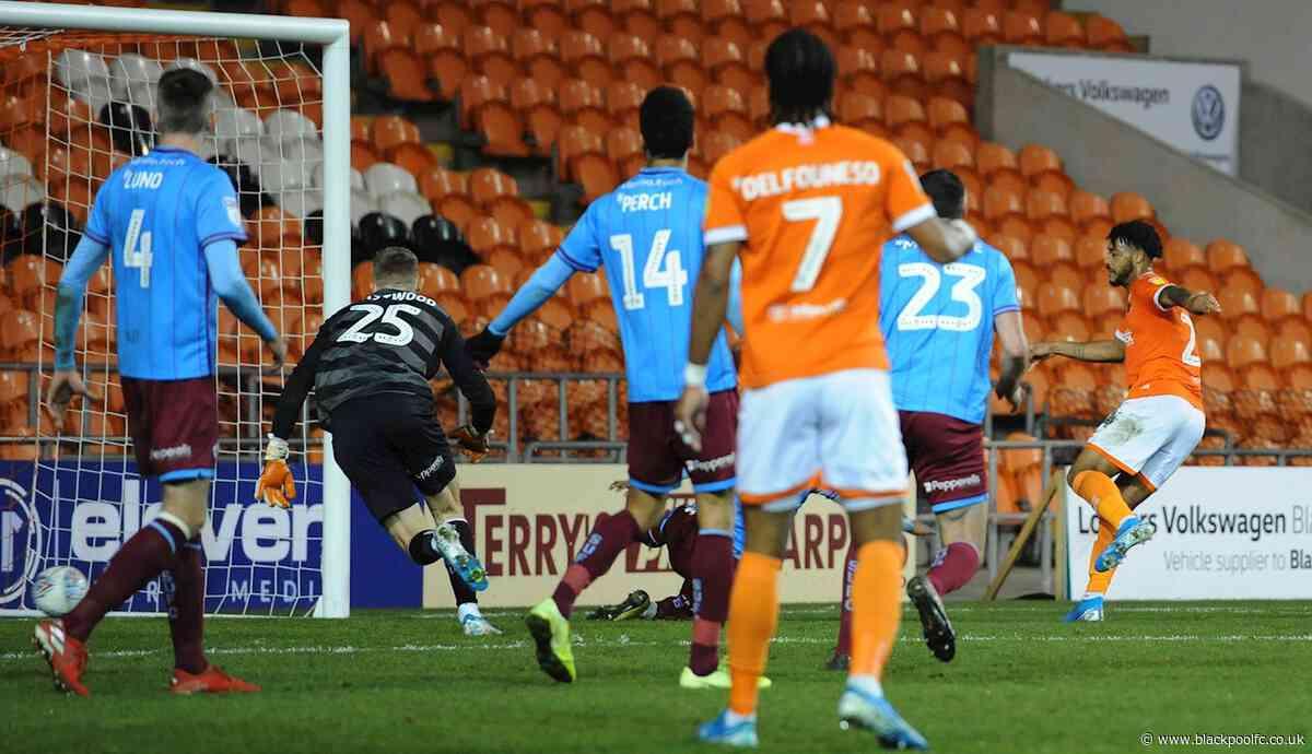 Report: Blackpool 1 Scunthorpe United 3