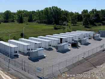 Another big battery installed in Sarnia-Lambton