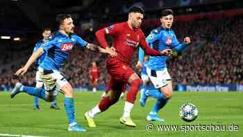 Champions League: Remis gegen Neapel - Liverpool verpasst vorzeitigen Einzug ins  Achtelfinale
