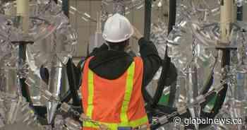Massive, spinning chandelier under Granville Bridge to be illuminated Wednesday