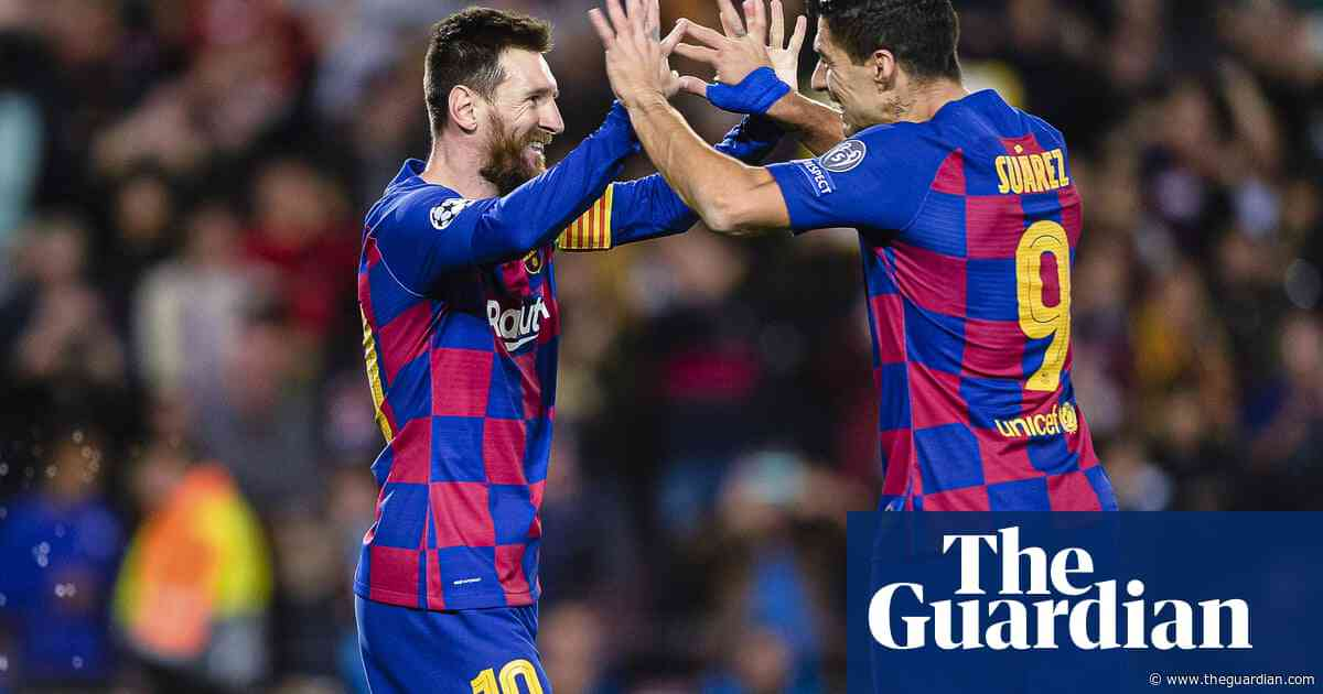 Lionel Messi marks milestone with goal in Barcelona's win over Dortmund