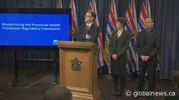 NDP government announces major shakeup of health care system