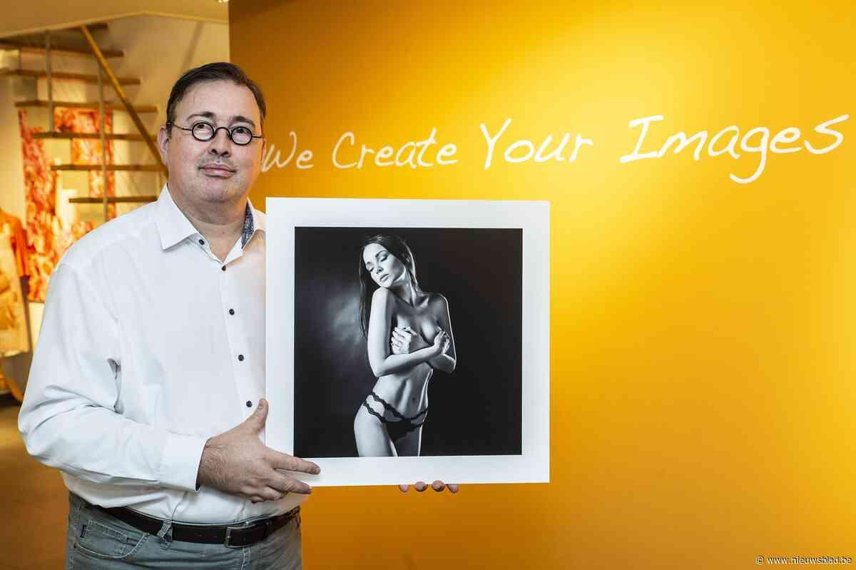 Roeselaarse fotograaf wint 'Michelinster voor fotografen' in Praag voor artistieke naaktfoto