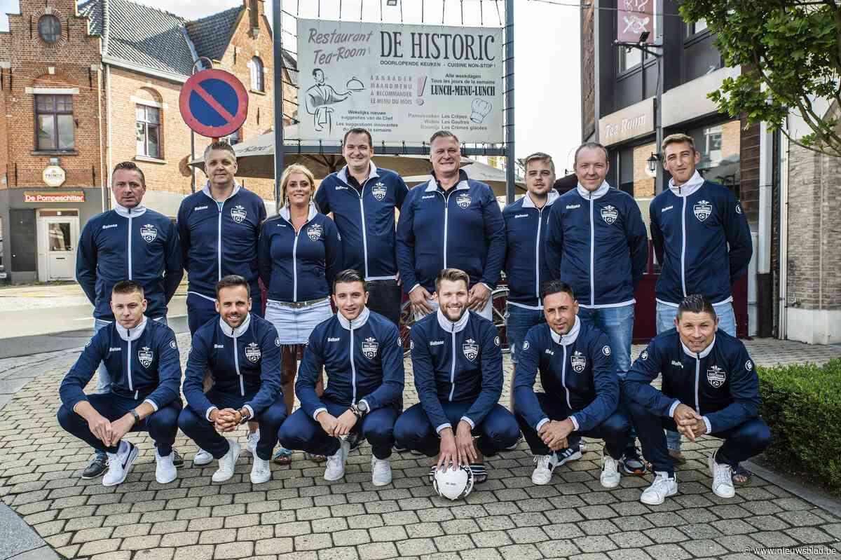 Nog maar net opgericht en minivoetbalclub fusioneert al met eersteklasseploeg