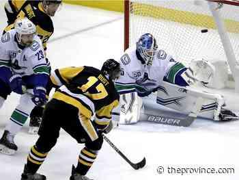 Penguins 8 Canucks 6: Too much Malkin in blown three-goal lead
