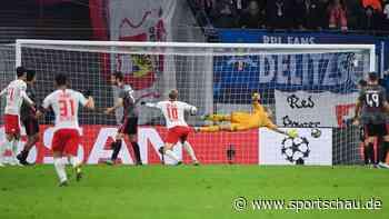 Champions League: RB Leipzig siegt in der Nachspielzeit gegen Benfica Lissabon und steht im Achtelfinale