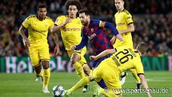 Champions League: Borussia Dortmund unterliegt beim FC Barcelona und muss um Achtelfinale zittern