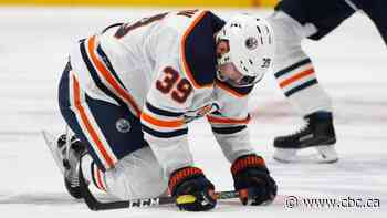 Short-handed Oilers fall to Avalanche in final stop of 5-game road trip