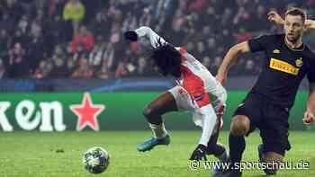 Champions League: Videobeweis bei Slavia Prag gegen Inter Mailand macht aus einem 2:0 ein 1:1