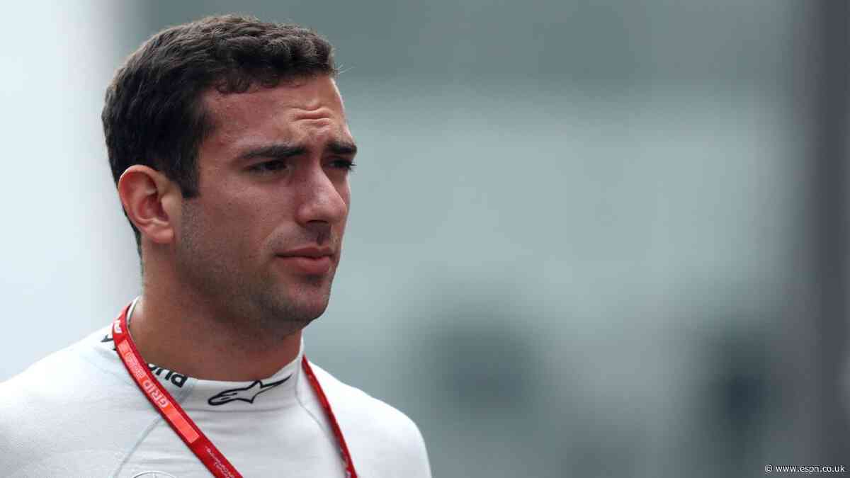 Williams confirm F2 driver Latifi will replace Kubica