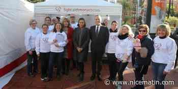 Fight Aids a fait passer le test du VIH gratuitement à Fontvieille