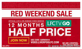 Red Weekend deal: Get 12 months' LFCTV GO access for half price