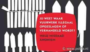 Regio Den Haag - Illegaal vuurwerk melden kan ook anoniem
