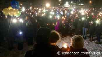 'I forgive you': Hundreds gather to mourn two kids killed in Fort Saskatchewan