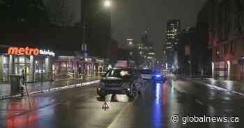 Elderly pedestrian in critical condition after being hit by car in Plateau-Mont-Royal