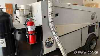 Former Northlands Coliseum Zamboni looking for a new home
