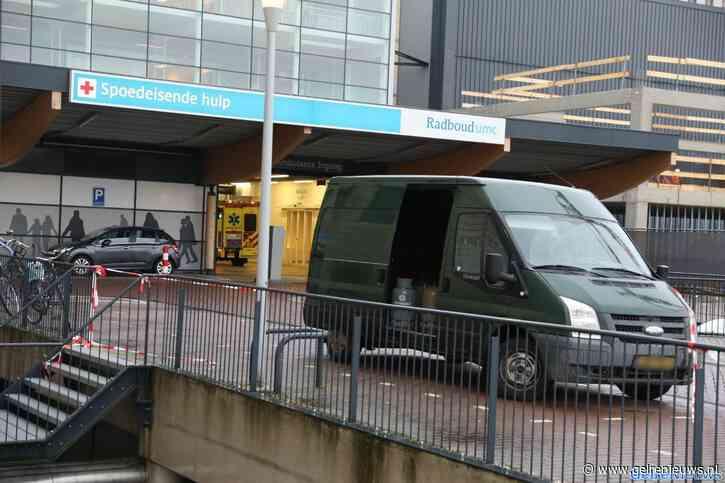 Zwaargewonde man binnengebracht in ziekenhuis Nijmegen na explosie drugslab