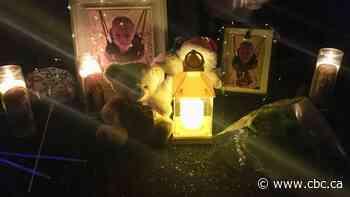 'It weighed on my heart': Candlelight vigil for dead Fort Saskatchewan boys draws hundreds
