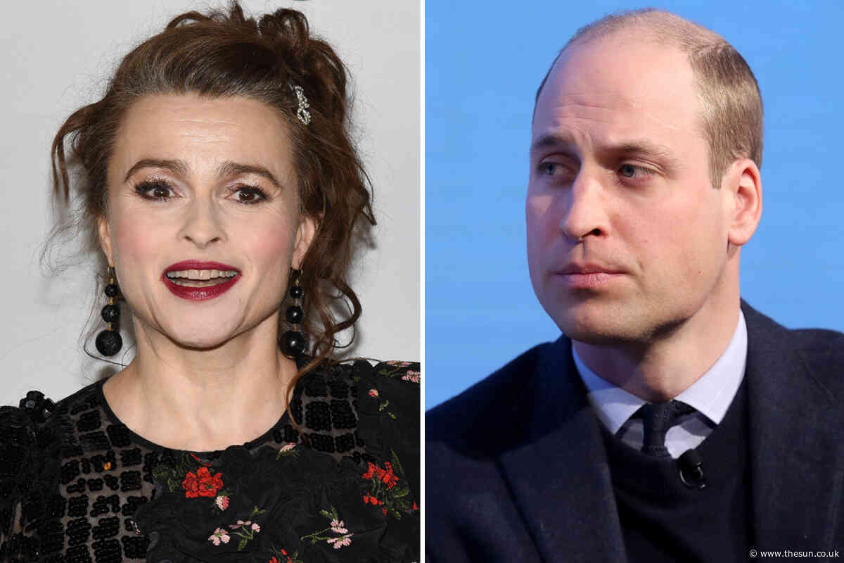 Helena Bonham Carter drunkenly asked Prince William to be her daughter's godfather – but he declined