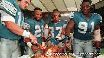 Lions, Cowboys continue their time-honored tradition of hosting Thanksgiving games