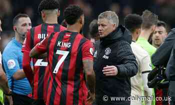 Bournemouth's Josh King backs his old Manchester United U23 boss Ole Gunnar Solskjaer for success