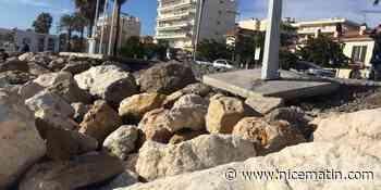 VIDÉO. Galets disparus, douches déménagées... Les intempéries ont redessiné les plages de Cagnes-sur-Mer
