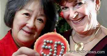 Coquitlam women mark anniversary with cookies