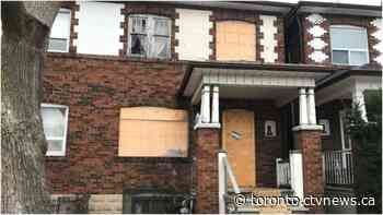 Four abandoned Toronto properties will be sold to the highest bidder today