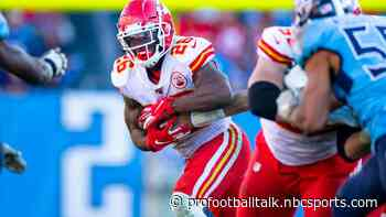 Damien Williams out of Chiefs practice again on Thursday