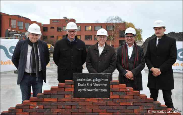 Eerste steen woonzorgcentrum Sint-Vincentius is gelegd
