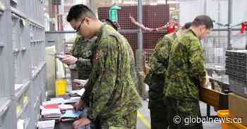 Thousands of cards arrive for Canadian Armed Forces troops after social media appeal
