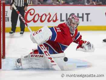 Canadiens Game Day: Carey Price will be back in goal vs. Devils