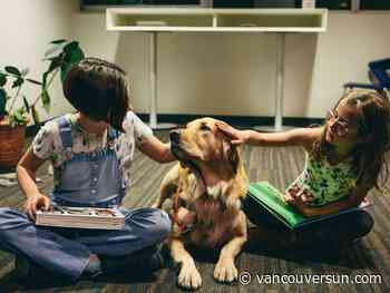 UBC study finds dogs may help motivate kids to read