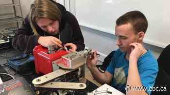 Alberta students design robot to pick up needles in parks