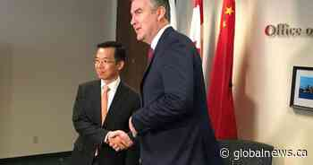 Nova Scotia's premier supports continuing economic and cultural ties with China