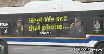 'Operation Bus Cop' aims to reduce distracted driving in Saskatchewan
