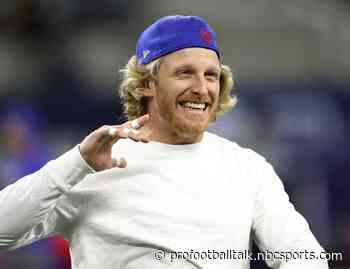 Cole Beasley gets touchdown against his former team to tie the game