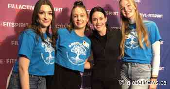Tessa Virtue encourages young women to stay active at Woodstock, Ont. conference