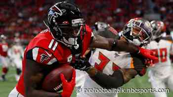 Julio Jones ruled out for Falcons against Saints