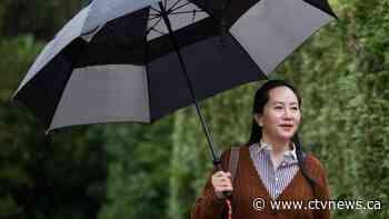 U.S. using fraud allegations to dress up sanctions complaint: Meng's defence